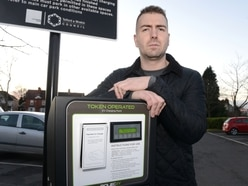 Blind Telford charity worker warns of 'silent killers' after being hit by electric car