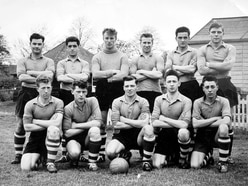 When Busby Babes were Shropshire Army boys - with pictures and video