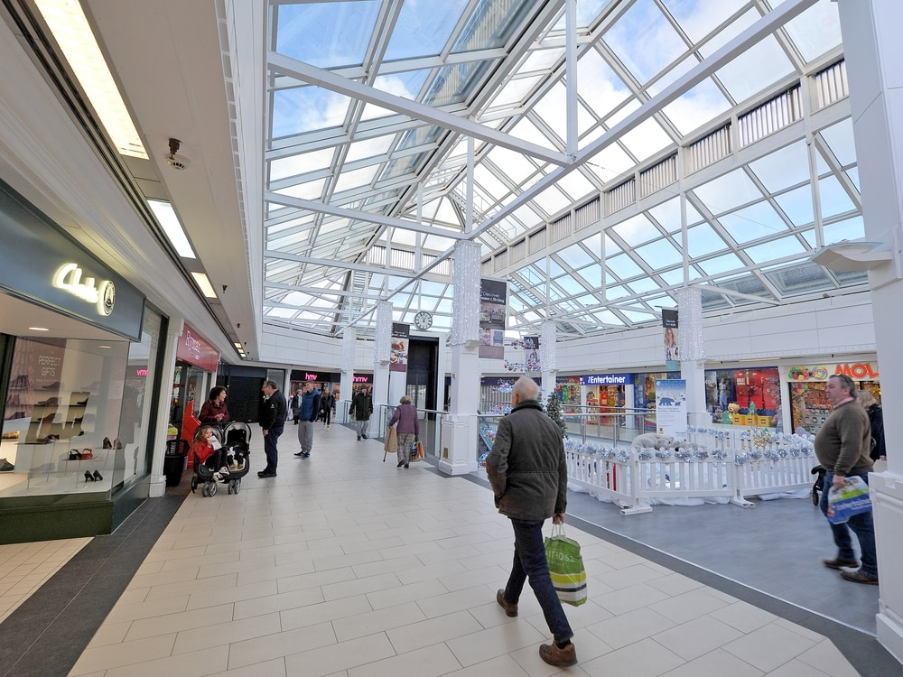 Glass-roofed restaurant plan for Shrewsbury's shopping centre