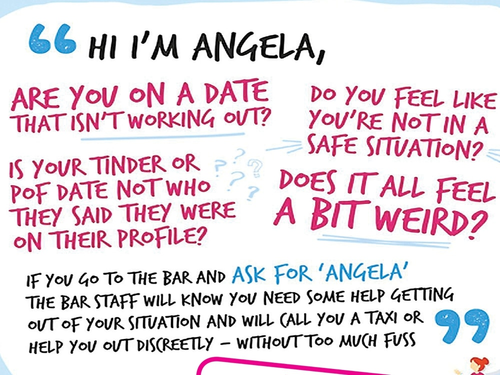 'Ask for Angela': Scheme launched for people at risk in Telford venues