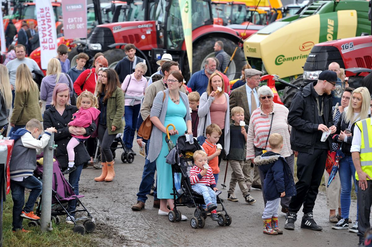 Shropshire County Show is being staged again this weekend after being cancelled last year due to the pandemic and lockdown