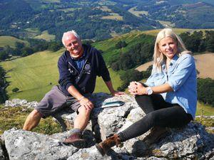 Rob McBride and TV presenter Ellie Harrison
