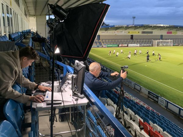AFC Telford fans could watch their side in friendly action against Birmingham City's under-23s in a live trial on Youtube last night