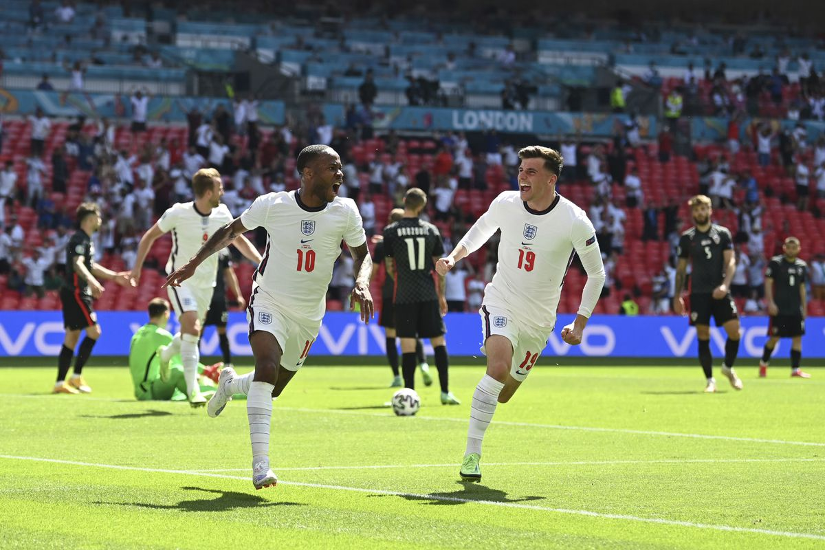 Raheem Sterling's goal was enough for England