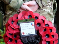Shropshire and Mid Wales fall silent again for Armistice Day