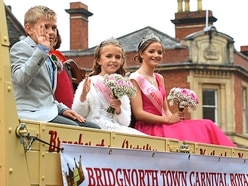 Crowds get into the festival spirit at Bridgnorth Carnival - in pictures