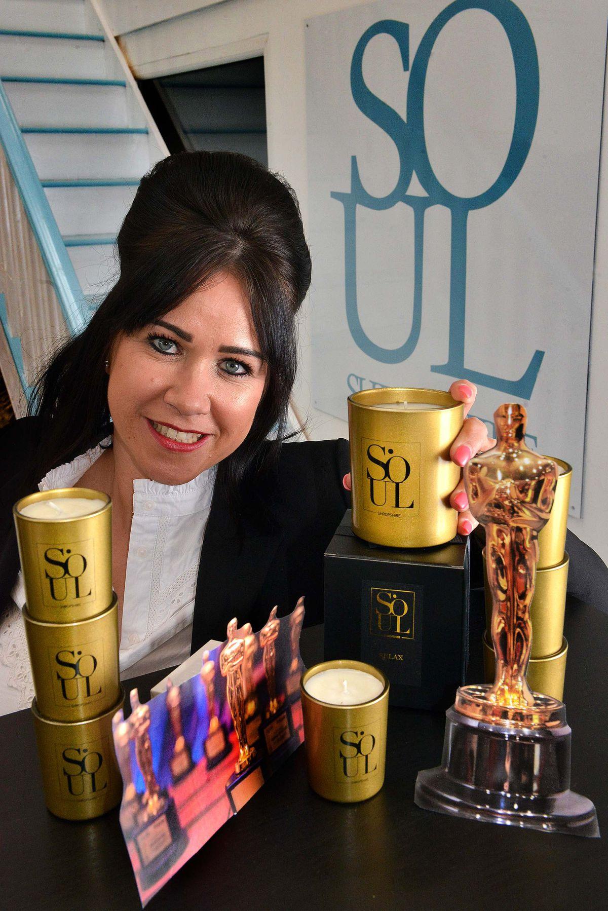 Gemma Vujnovic, owner of Soul Shropshire