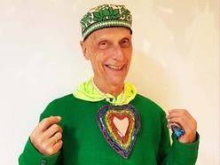 Artist raffling rainbow heart sculpture for LGBTQ+ charity