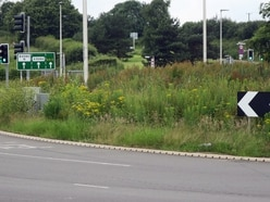 'Overgrown and an eyesore': Calls to improve gateway roundabout into Shrewsbury