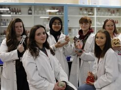 Bright hopes for Telford science class