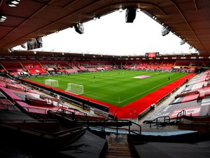 A general view of the stadium prior to the beginning of the Premier League match at St Mary's, Southampton..