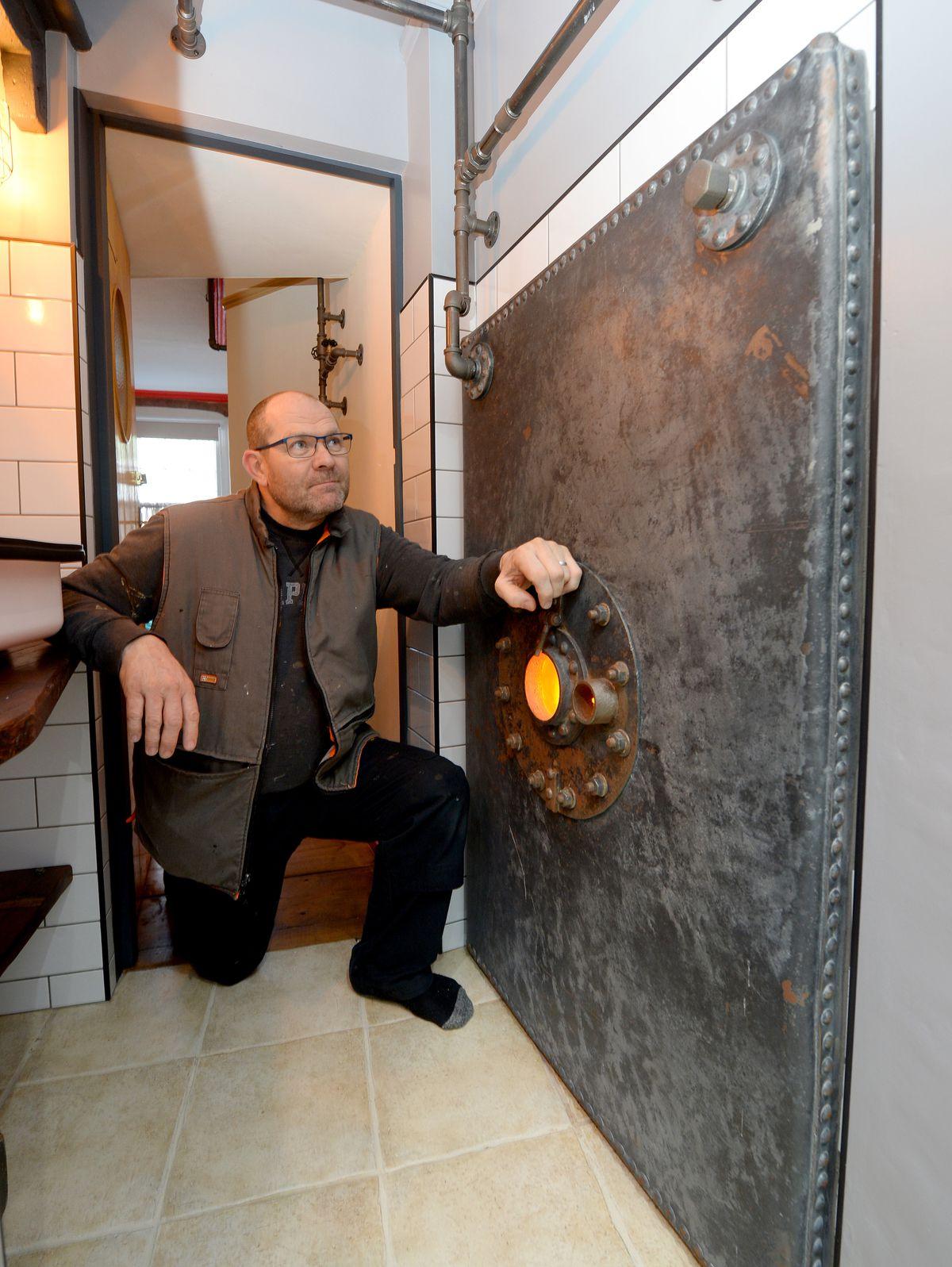 Jason, an airline pilot, undertook most of the renovation work himself