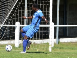 AFC Bridgnorth's Anwar Olugbon finds the net after just six seconds