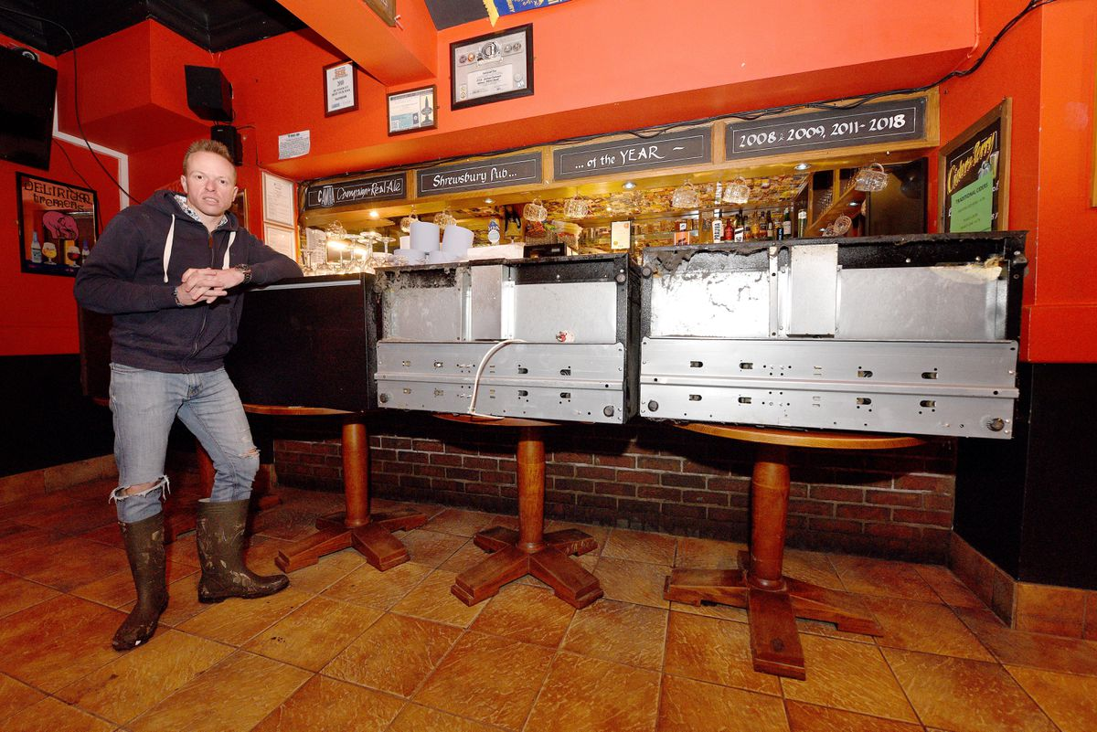 Ollie Parry, owner of The Salopian bar in Shrewsbury