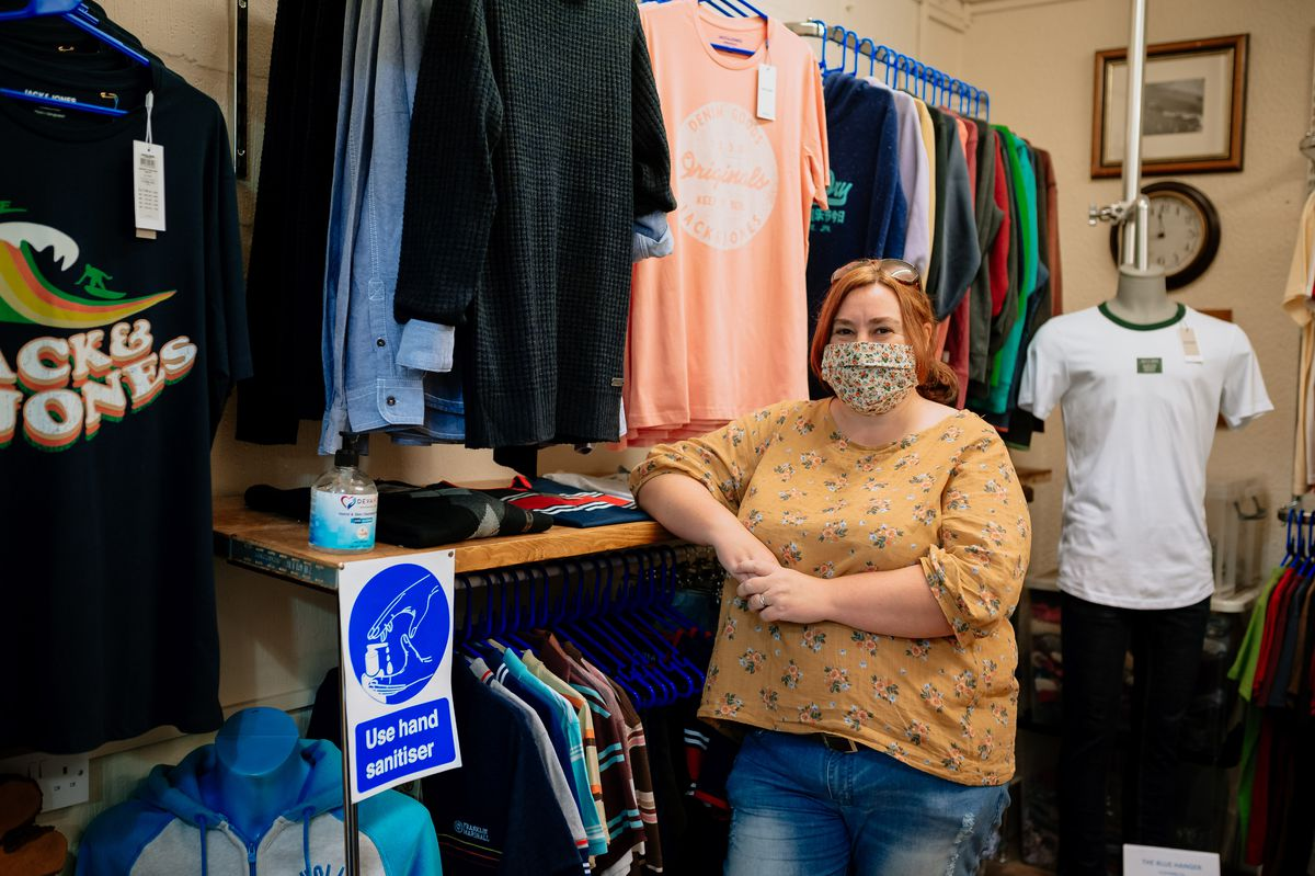 Louise Ridgers from The Blue Hanger Clothing Company