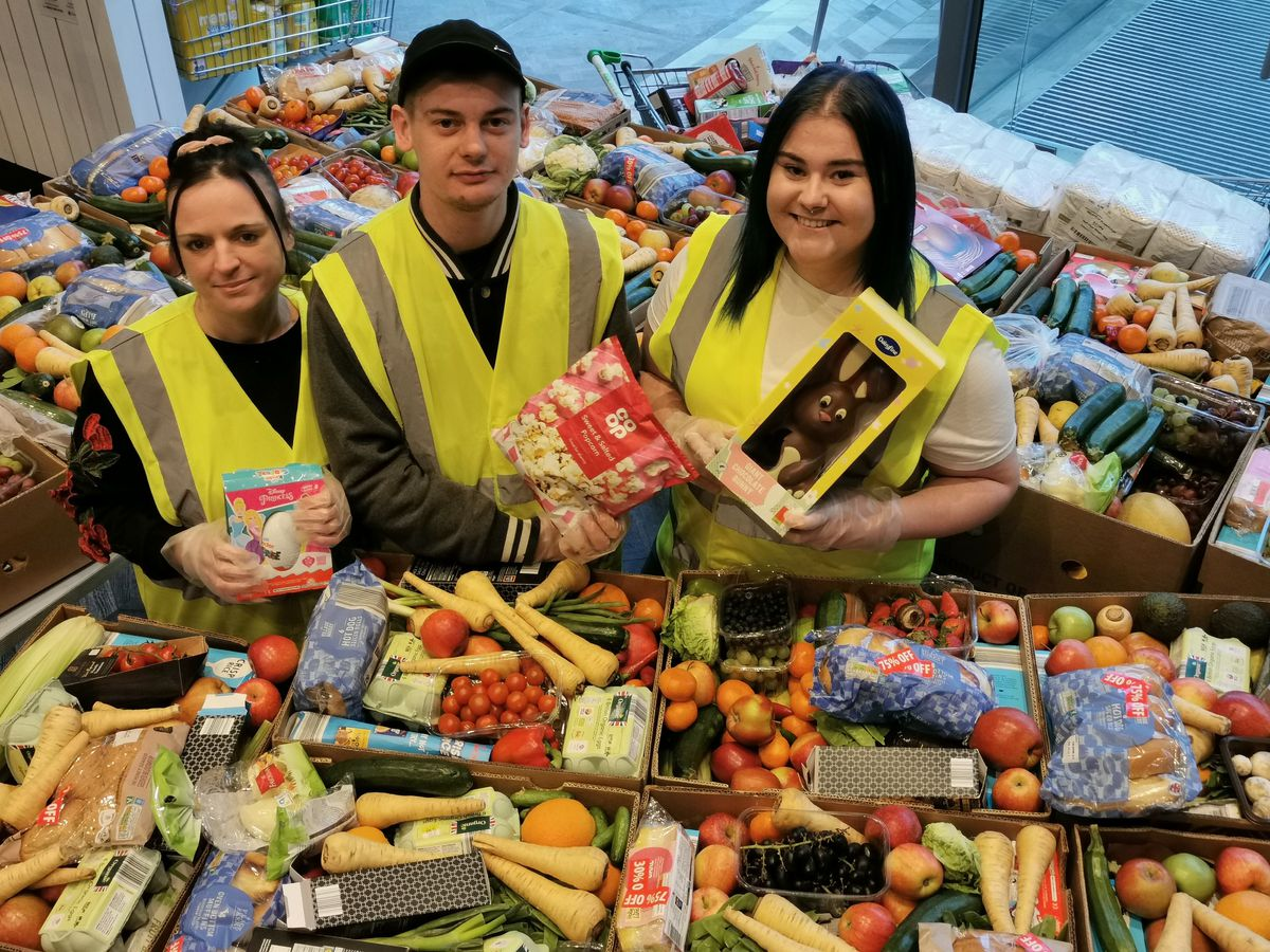 The Leegate Community Food Project volunteers