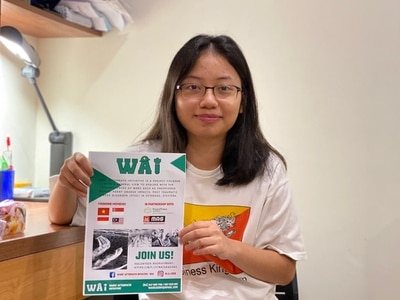 Shropshire students raising funds to support bomb removal in Vietnam