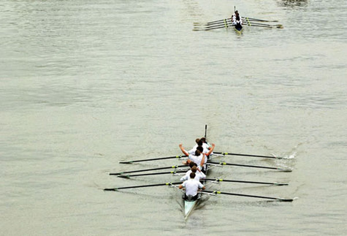 University rivalries - it's not just the boat race. . .