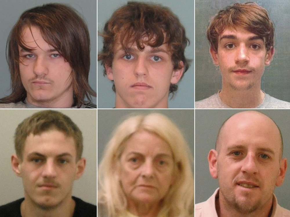 'Buy one, get two': Shropshire drugs gang five jailed for more than 30 years