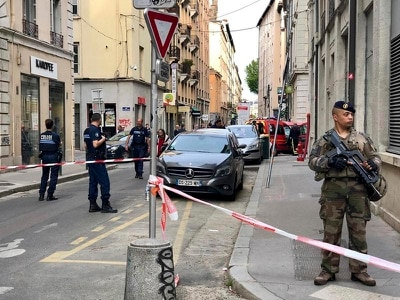 Police hunt suspect after 13 injured in Lyon explosion