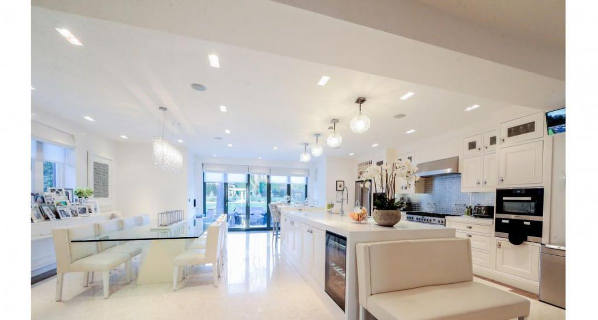 The open plan kitchen. Picture: Rightmove