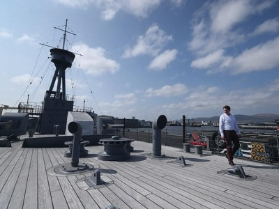 Battle of Jutland warship's four years since restoration marked in lockdown