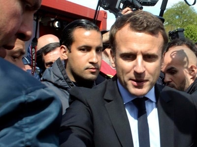Macron aide faces charges over beating allegations