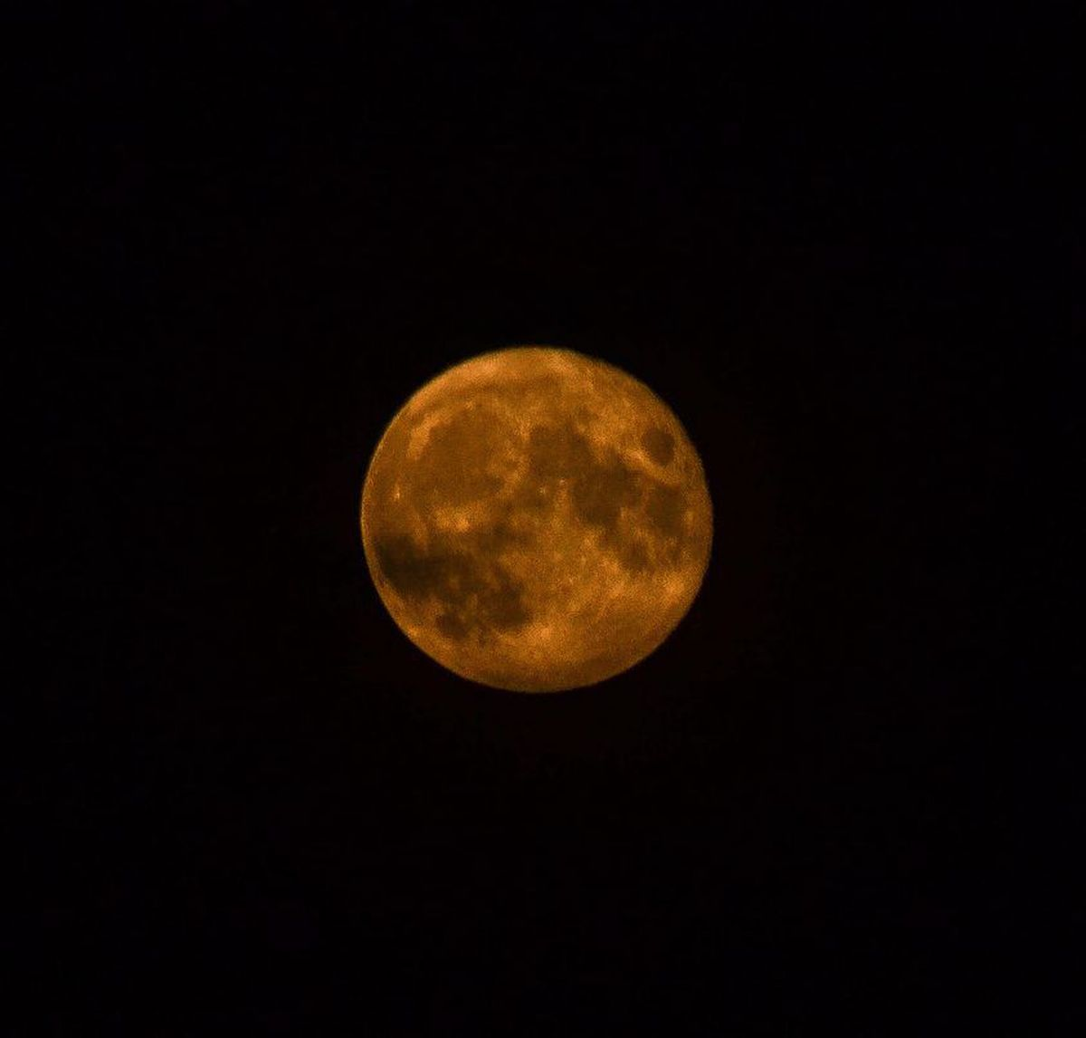 A shot of the Corn moon by Juanita Lloyd