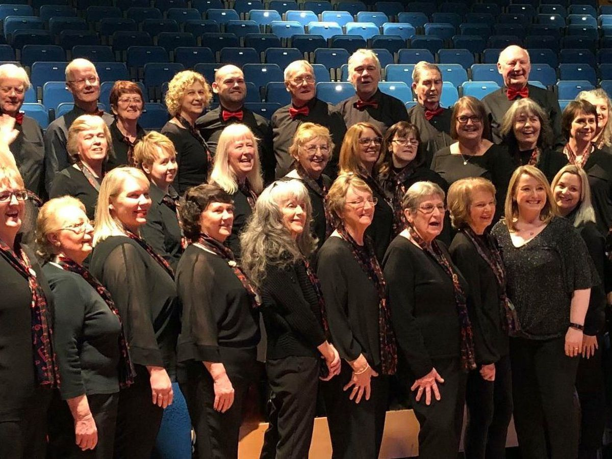 The Darby Singers at The Place Theatre in March 2020