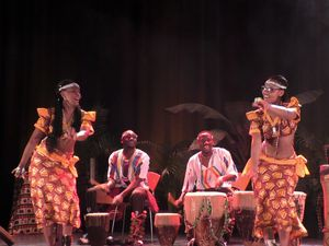 African Dancers at Oakengates Theatre