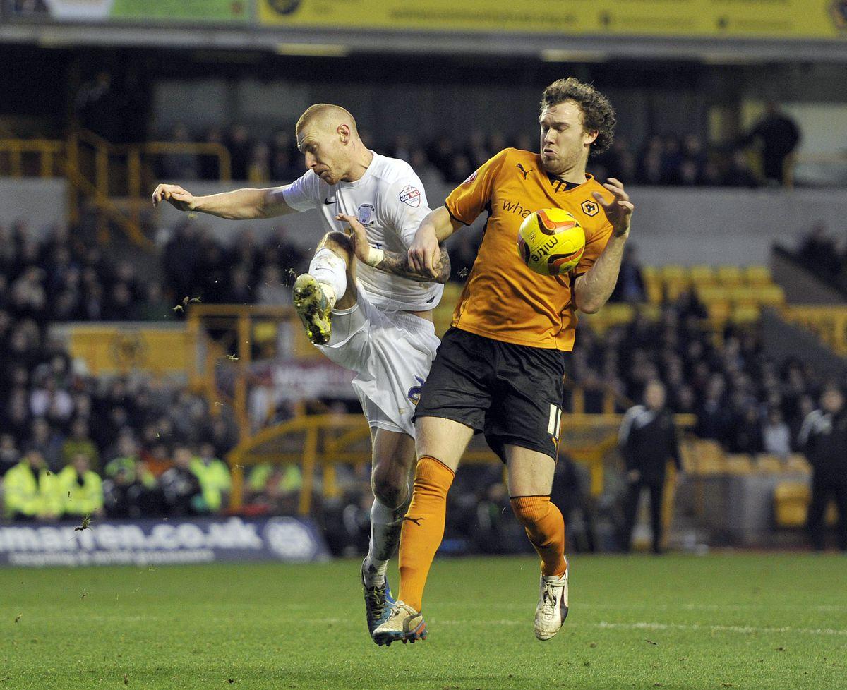 Wolverhampton Wanderers' Kevin McDonald (right)