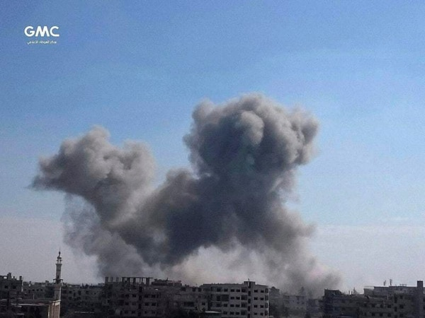 Hospitals overwhelmed in 'hell on earth' Ghouta