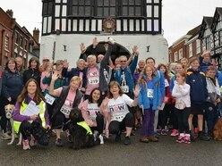 Bridgnorth walk event raises thousands for charity