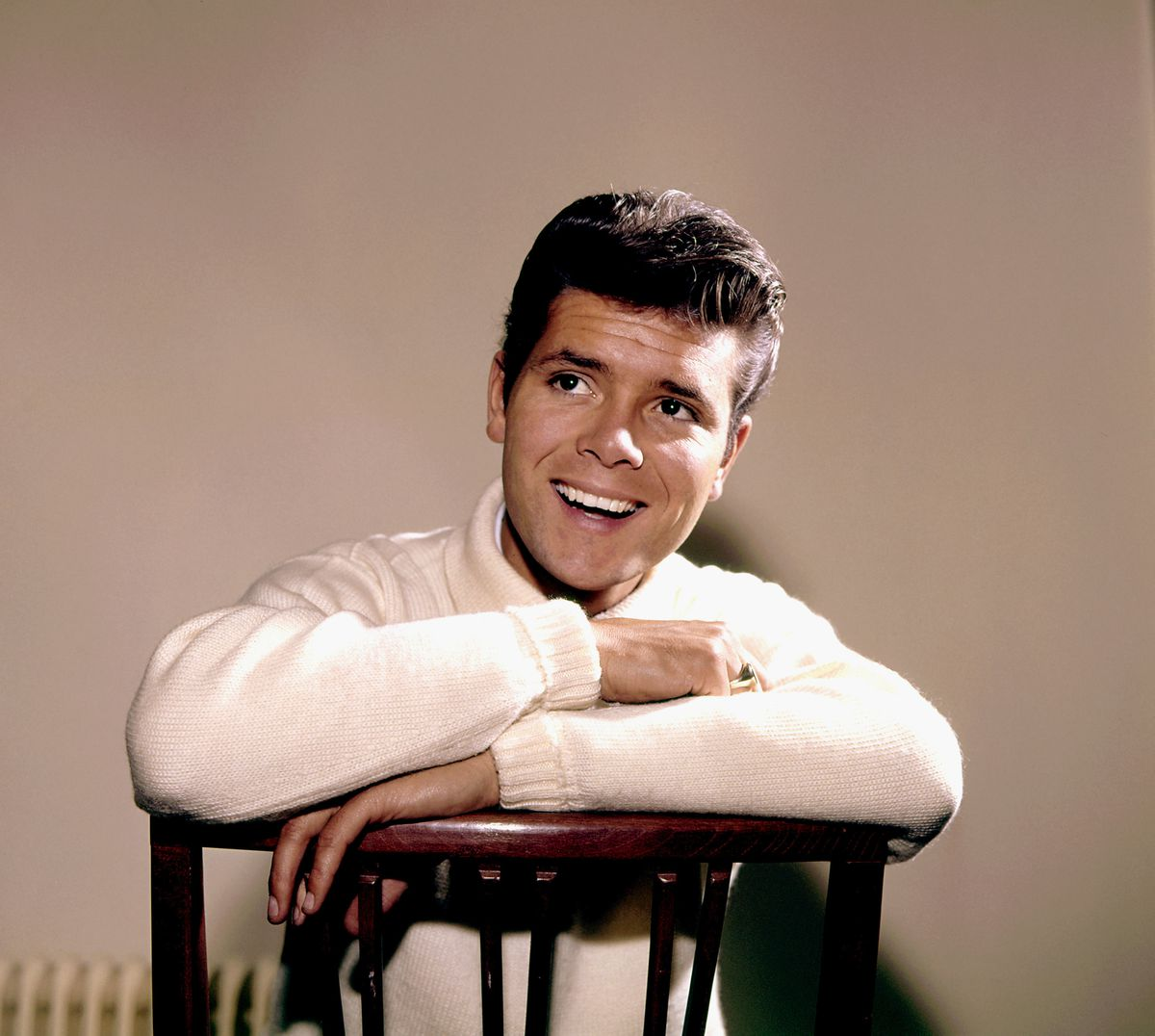 Cliff Richard in his younger days