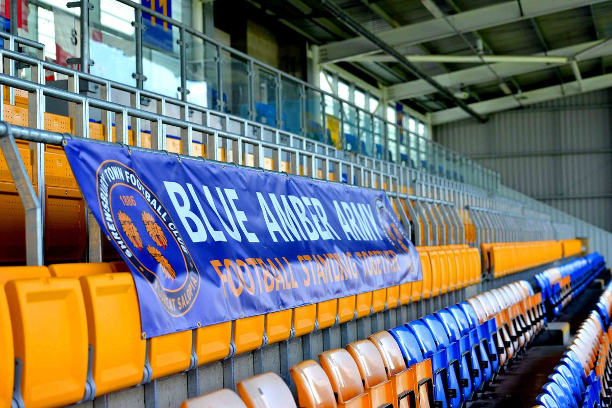 The new safe standing section