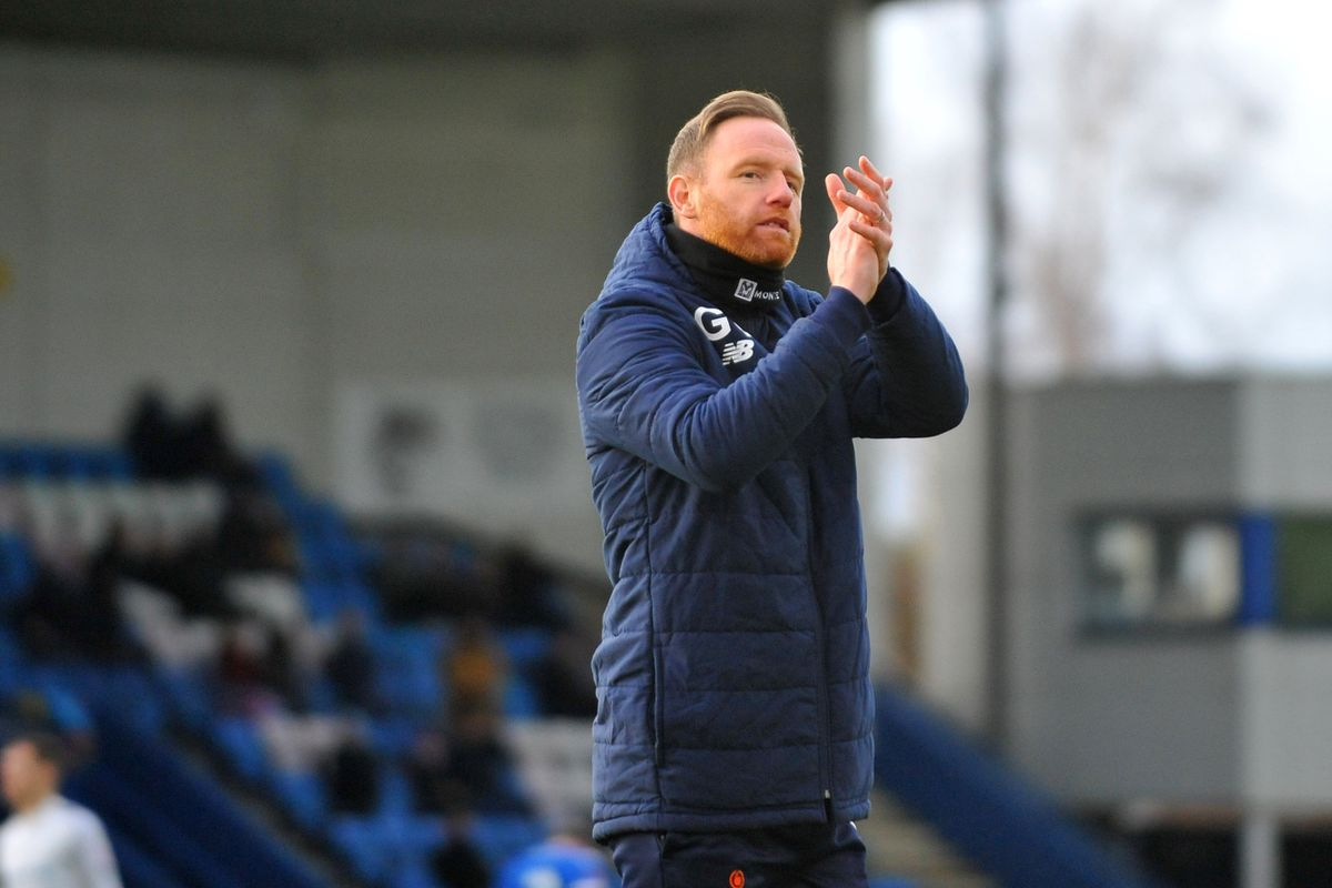 Gavin Cowan will enter a fourth season in charge of AFC Telford United.Credit: Mike Sheridan/Ultrapress.