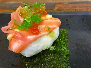 Have a poke around – the poke with salmon