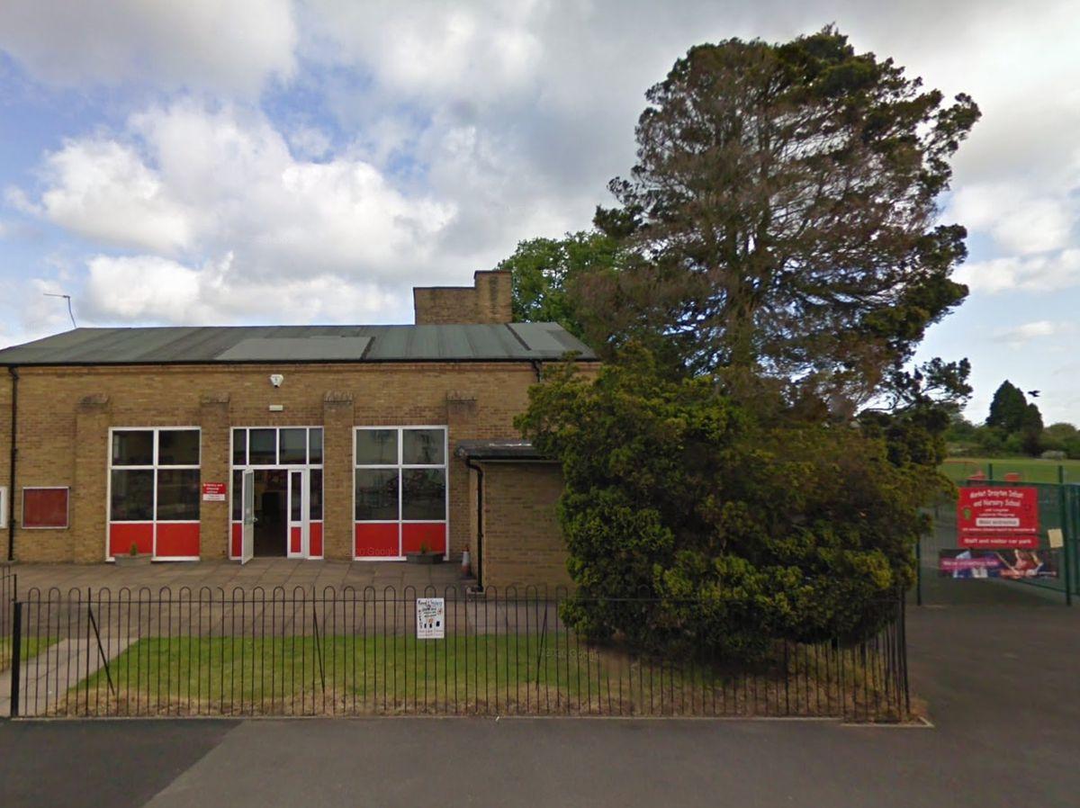 Market Drayton Infant and Nursery School. Photo: Google