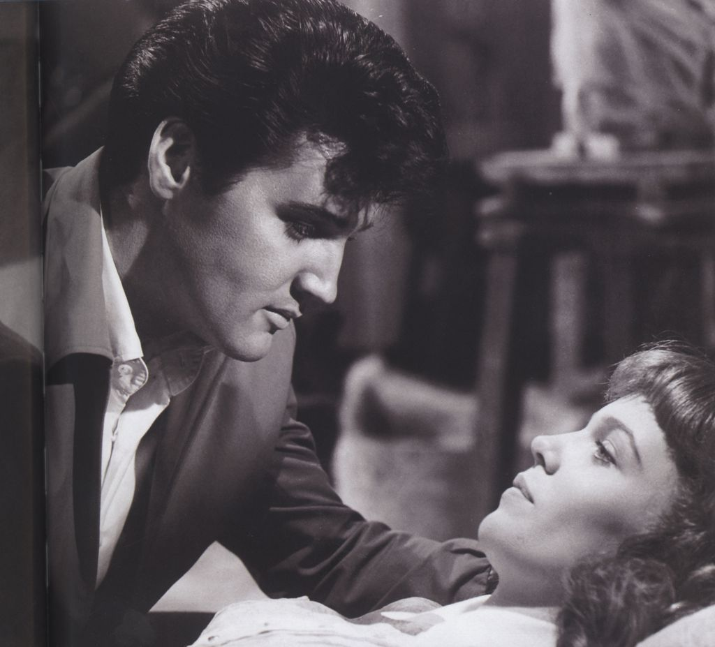 A scene from double Trouble, which was Elvis's 24th feature-film