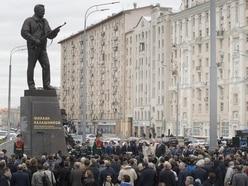 Moscow statue unveiled in honour of gun designer Mikhail Kalashnikov
