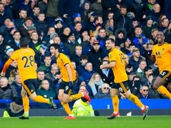 Everton 1 Wolves 3 – Report and pictures