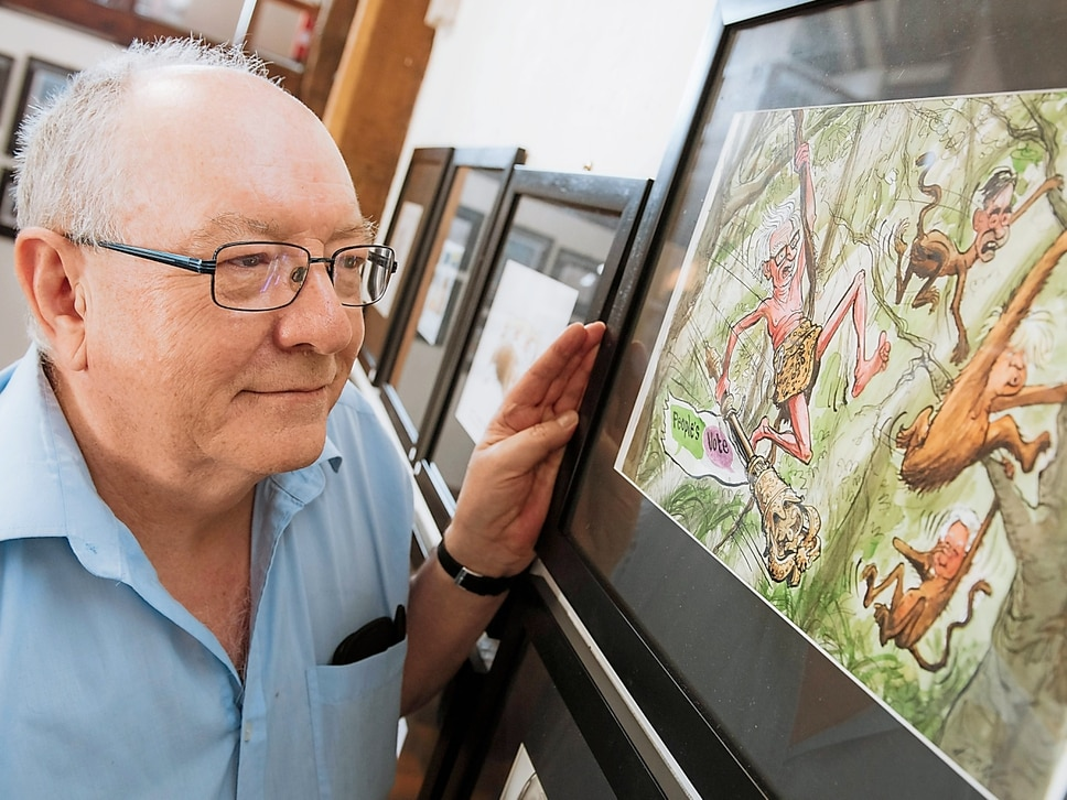 Easy to be drawn to cartoon festival