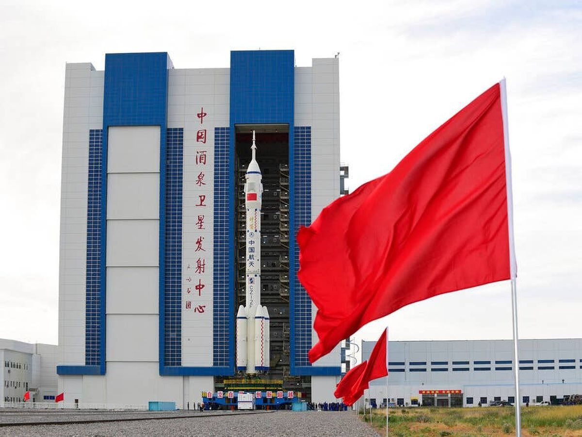 China space rocket launch site