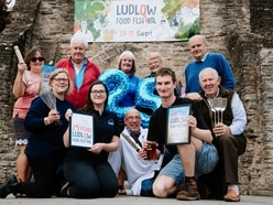 Ludlow Food Festival raises a glass for jubilee year