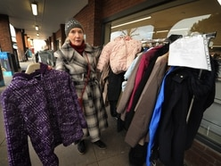 Jack's kind coat rack a hit with Bridgnorth's needy - with video