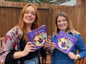Saskia Fuchs and Gem Bridges-Madeley with their new publication