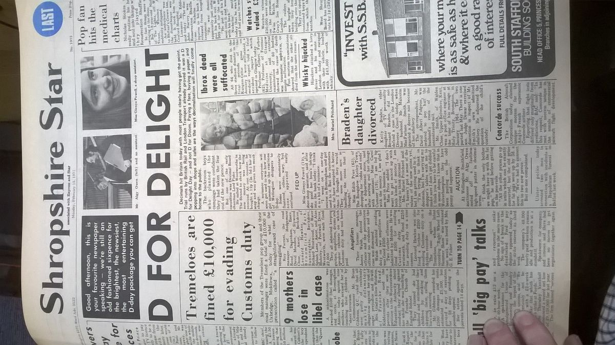 D For Delight - the transition largely appeared to run smoothly