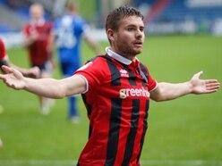 Joe Riley eyes the next level with Shrewsbury Town