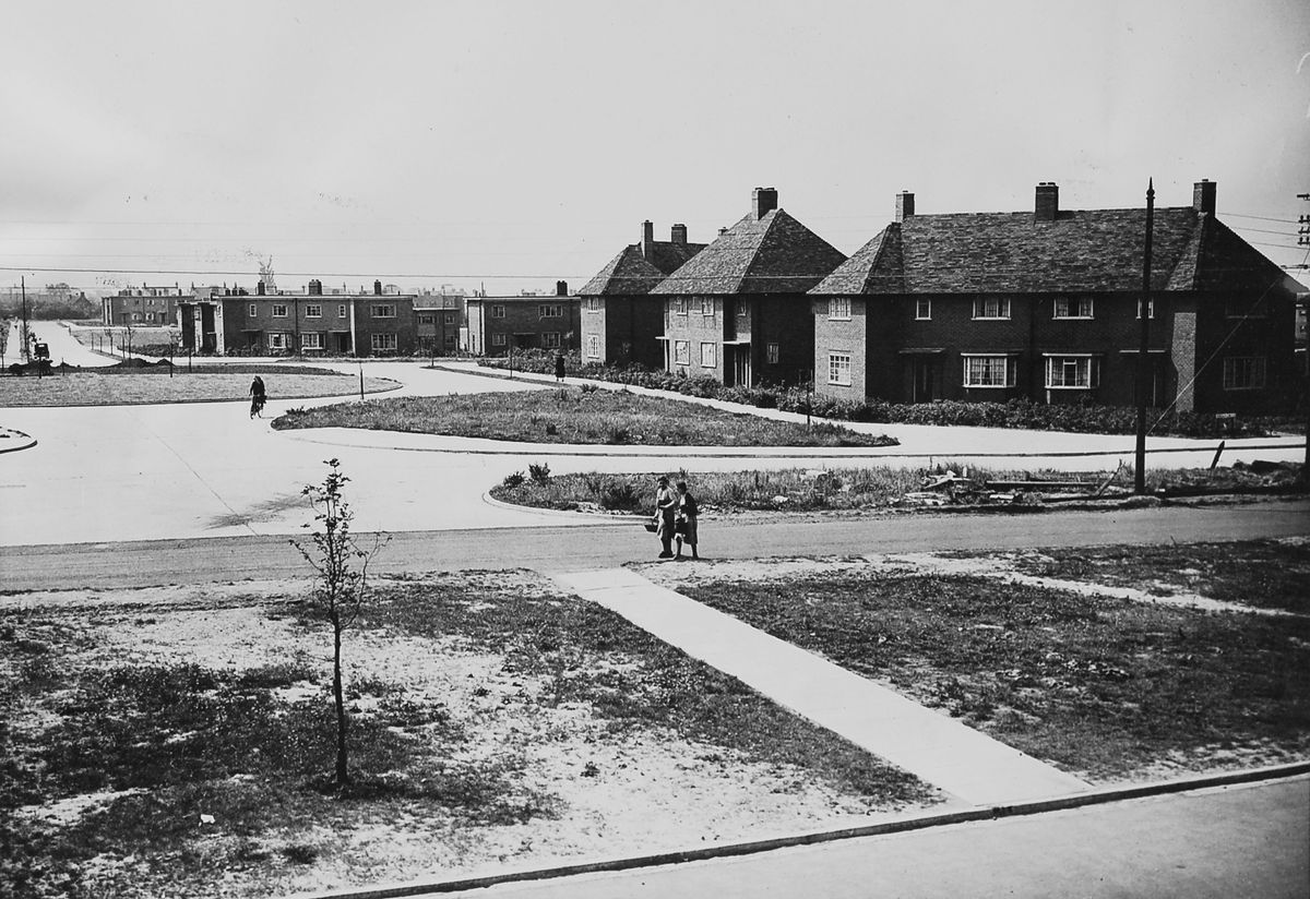 COD Donnington led to a new community being created on its doorstep as hundreds of homes were built to house the civilians who worked at the depot.