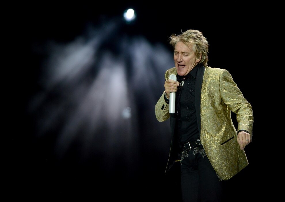 Rod Stewart in Shrewsbury: What is the weather forecast for
